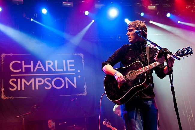 Charlie Simpson live in Falmouth this April