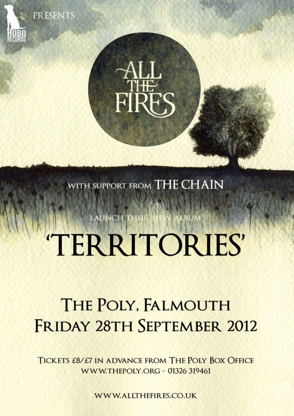 All The Fires Territories launch show poster