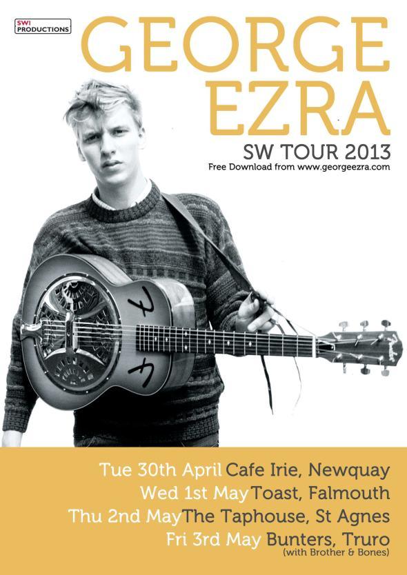 George Ezra SW1 Tour Poster