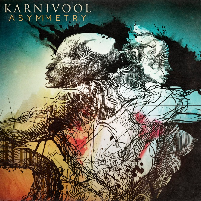 Karnivool - Asymmetry album cover