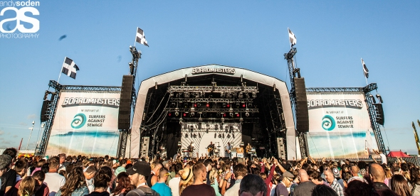 Frightened Rabbit - Boardmasters 10