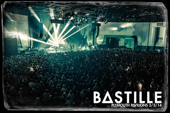 Bastille - Plymouth Pavilions.  Image © Andy Soden Photography.  All Rights Reserved