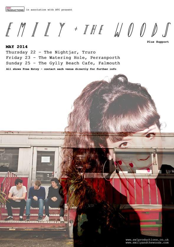 Emily & The Woods - Cornish tour dates 2014