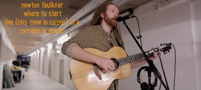 Newton Faulkner Where To Start Header