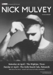 Nick Mulvey - Cornish Mini Tour Poster