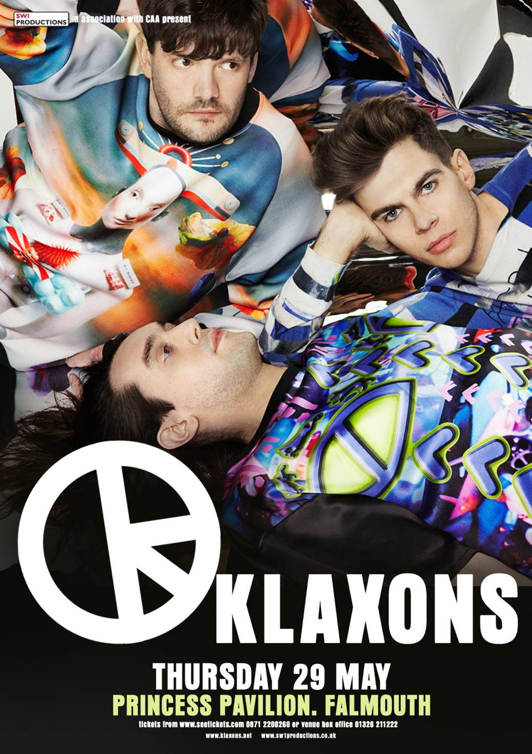 Klaxons - Princess Pavilion 29th May 2014