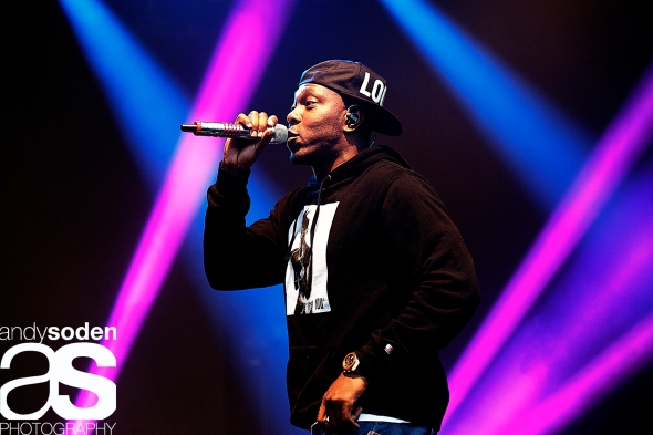 Dizzee Rascal - Eden Sessions 2014 image © Andy Soden